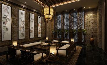 北京茶楼中式装修,不仅优雅更体现和谐美