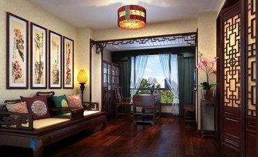 山东简约中式装修设计,雅致稳重又温馨恬静