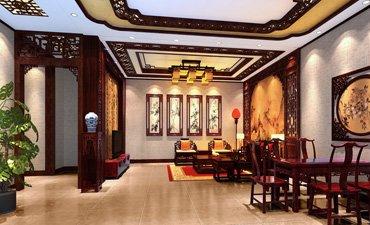 山西简约中式复式楼设计,即显示沉稳又不乏现代文化气息
