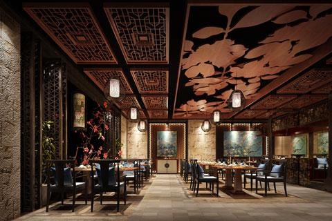 北京长楹天街新中式餐厅装修——真情弥满 委婉动人