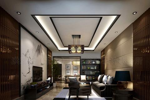 河北泊头付总中式家装新中式风格设计 时尚的古典风韵