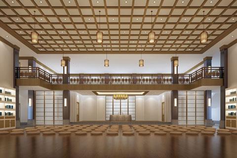 五台山普寿寺善缘楼中式设计 妙合禅理 彻见心性