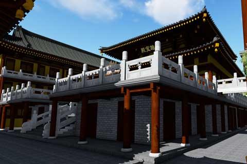 浙江乐清白象镇白莲禅寺寺院规划设计案例