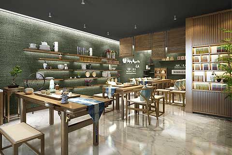 芬吉茶业奥林匹克俱乐部会所中式设计案例