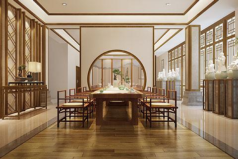 江苏南京禅修酒店禅意中式设计 东方禅意美学高端大气