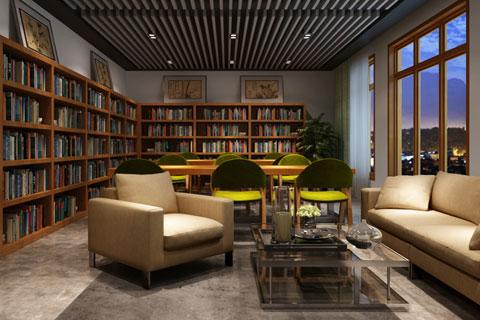 北京蓝犀牛中式元素办公空间设计 简约而不失时尚感
