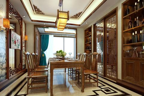 山城重庆某客户古典中式家装设计 返璞归真心