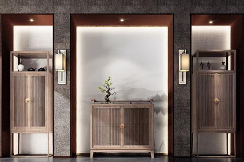 山西五台山禅意别墅中式装修 古韵带着优雅居家禅意空间