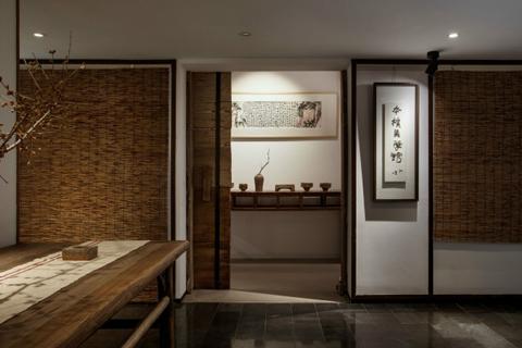 山西民宿客栈装修案例,以家为念打造特色中式装修设计
