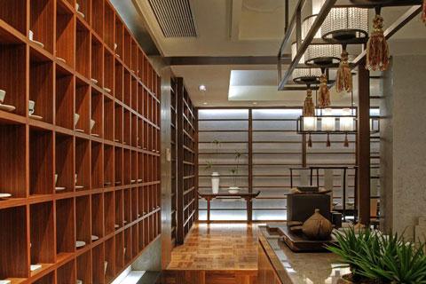 别墅样板房中式设计,展示华丽高雅的生活韵味