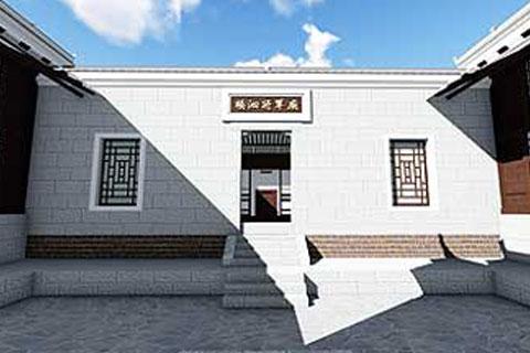 湖南官渡杨泗将军庙修缮整体方案之外观设计