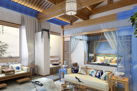 北京某四合院民宿改造项目设计 不一样的民宿情调